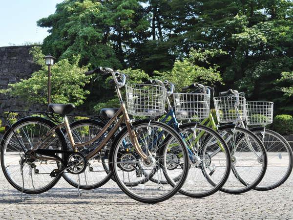 自転車で金沢の町を散策