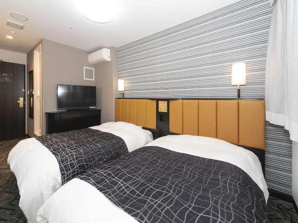 ツインルーム/15~17平米/ベッド幅120㎝×2台