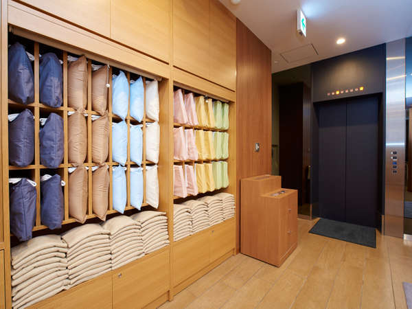 選べる枕は8種類から選択が可能!!自分に合った枕を探してみてください♪