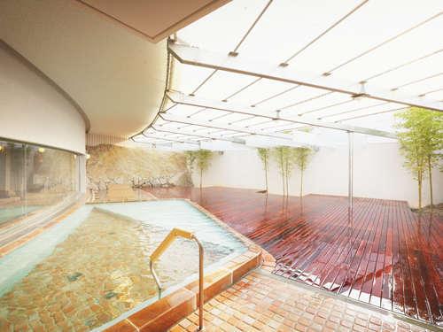 【たかのこのホテル】天然温泉掛け流しの露天風呂が自慢!美肌効果の高い良質な泉質!