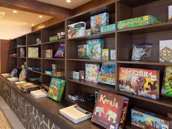 世界のボードゲームが楽しめるホテルは天草でも(熊本県内でも!?)当館だけです!