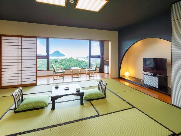 天草富士の見えるお部屋