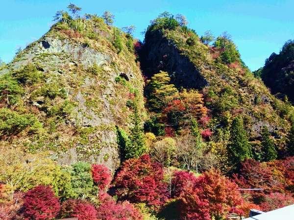 【国民宿舎 古岩屋荘】国指定の名勝「古岩屋」と久万高原の豊かな自然の中でのんびりと