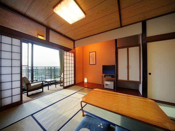 和室12畳【8階~3階景観指定無】最大6名様までご利用いただけます。