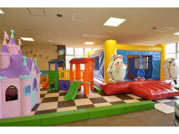 玉次郎・玉姫キッズパーク(エアー遊具の他、滑り台、お城、ボールプール、ゲーム等)