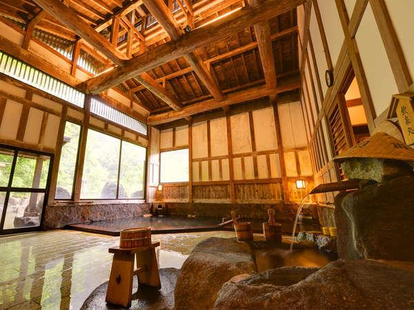 *内湯/江戸時代より日本に3つの「目の温泉」として知られる温泉です。