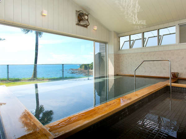 東シナ海を眺める鹿児島第3のリゾートスパ/内湯・露天・ジャグジーがあります