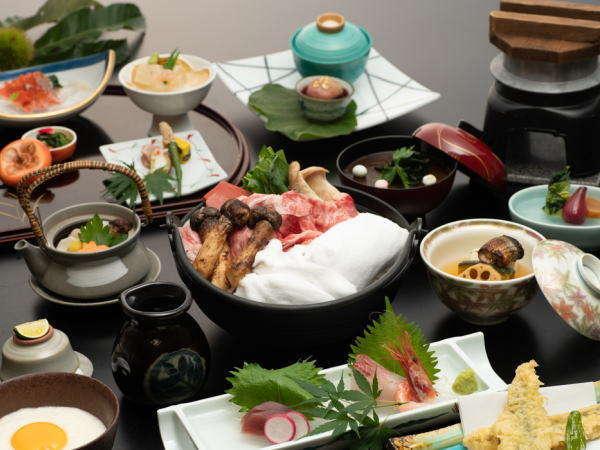 「秋の雲海鍋会席♪」ゆのごう館イチオシ!当館でしか味わえないお料理です♪