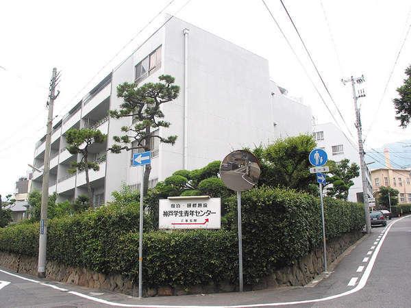 【外観】閑静な住宅街にあり研修施設も充実。学生以外の一般の方も大歓迎♪