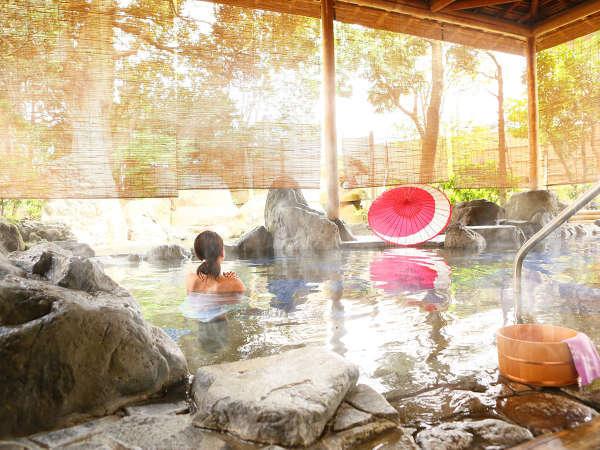 くつろぎの庭園露天風呂