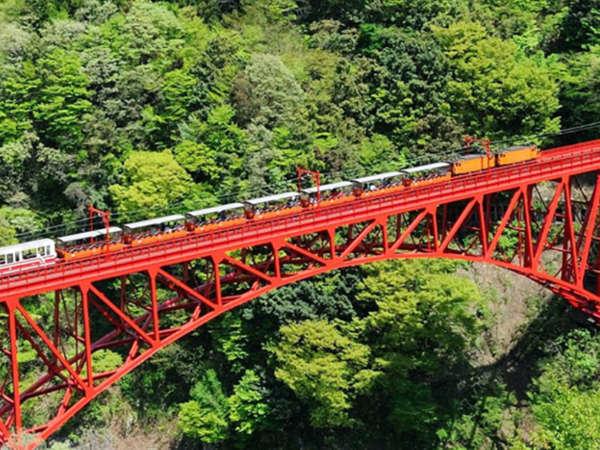 宇奈月トロッコ列車