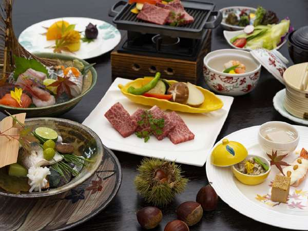 【2020年秋 和楽】秋の味覚を満載したコース料理!