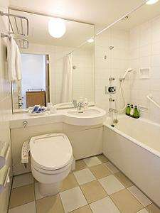 スタンダードルームのバス・シャワールーム