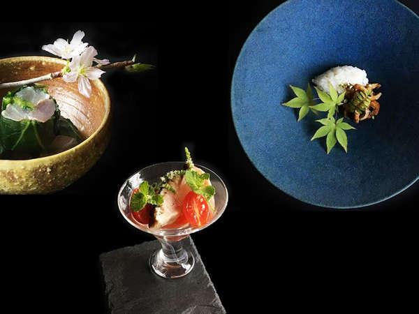 【オーベルジュ 三水園】Hashimoto流創作料理と源泉かけ流し天然温泉を愉しむオーベルジュ