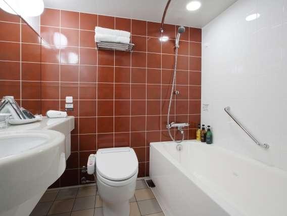 【コンフォートツイン】はお風呂場も広めの設計でごゆっくりのびのび♪