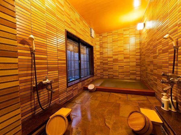 内湯浴場は、ミジャグジー装置付です。