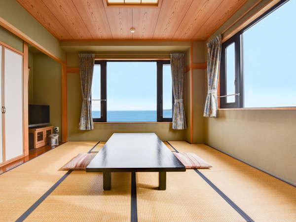*● 和室10畳 ● 非日常の景色に癒される。