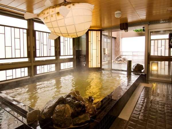 最上階天然温泉大浴場★内風呂★