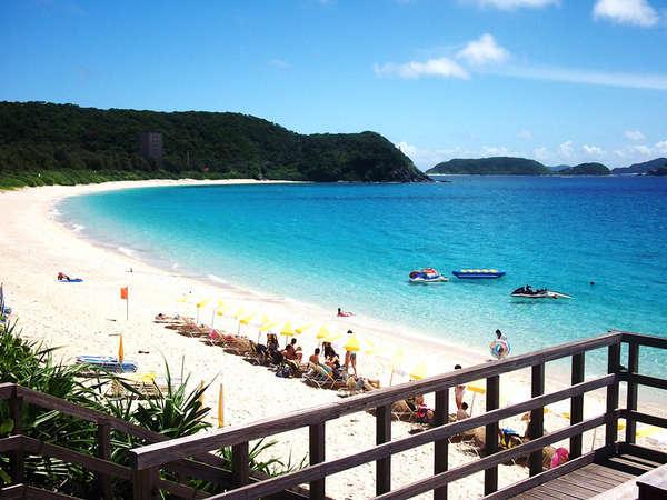 *座間味島古座間味ビーチは沖縄随一の美しさ!遊ぶならスノーケルが一押しです♪