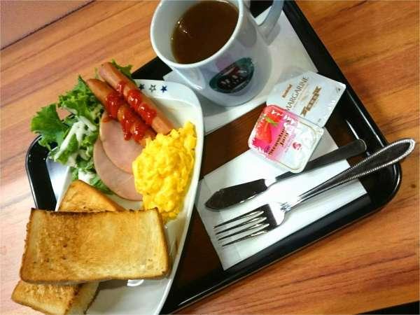 軽朝食セット(洋食)※パン、ドリンクおかわり自由
