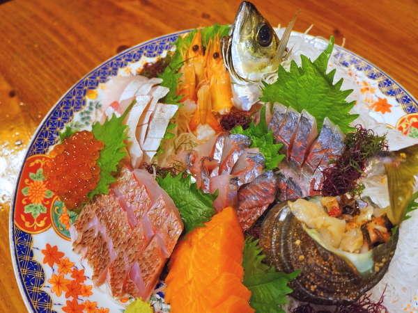 【関アジ&刺盛りプラン】大分県の海の幸と山の幸を一度に味わうことが出来る欲張りプランです♪