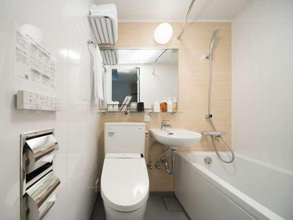 お部屋のユニットバスルーム(シングル/セミダブル)