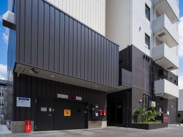 40台収容可能な立体駐車場