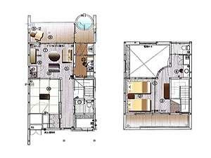 メゾネット客室B