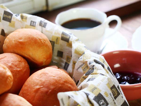 【朝食】手づくりパン