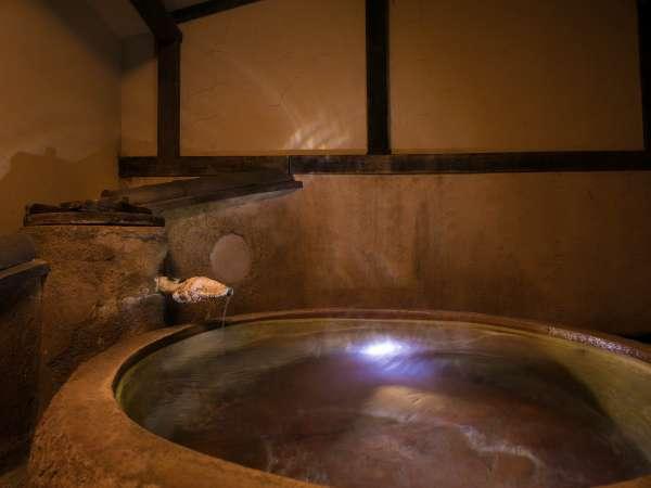 【貸切湯】椿の湯プライベート空間で別府鉄輪の湯をお楽しみ頂けます。