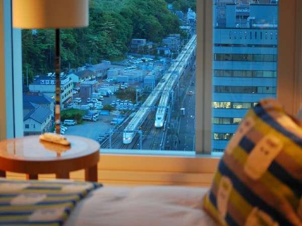 ★お部屋から新幹線がご覧いただけます!★