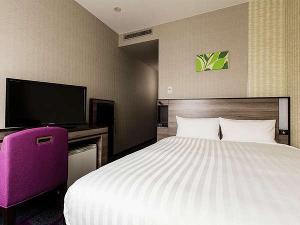 【客室】シングルルーム・部屋広さ…16㎡・宿泊人数…1名~2名・ベッド幅…140cm