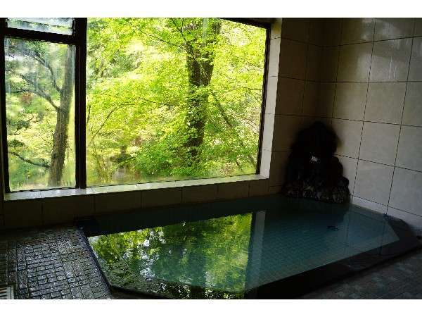 新緑時のお風呂