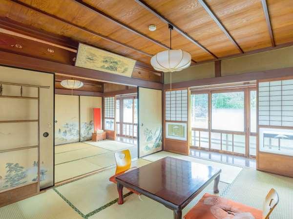 【おまかせ和室一例】広々とした和室でゆったりとお寛ぎください