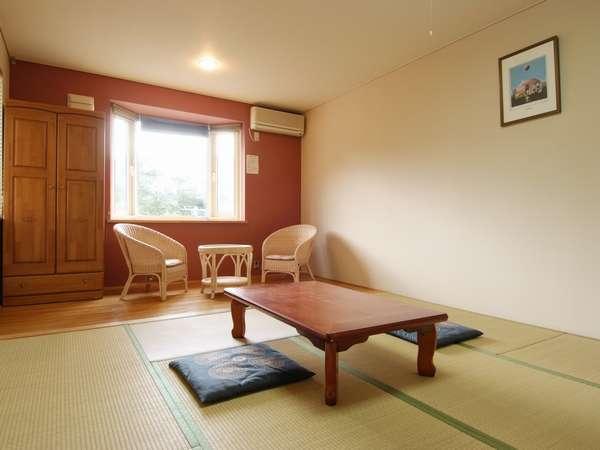 居心地がよく、明るい和室