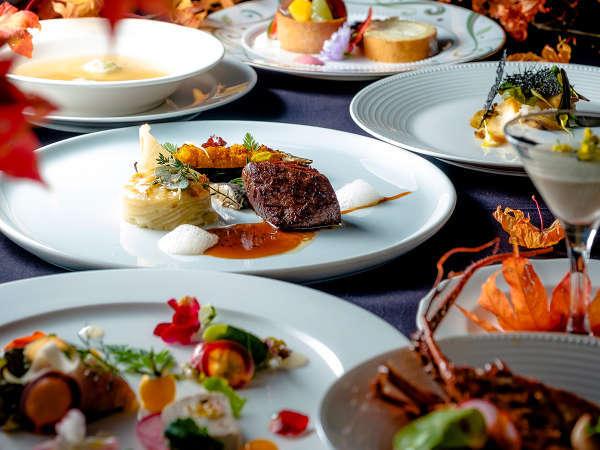 【ご夕食一例】質と品数をアップグレードさせた 「グランデフルコース・プラン」