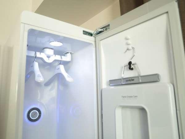 話題のクリーニング機「LG Styler」を一部の客室に設置!