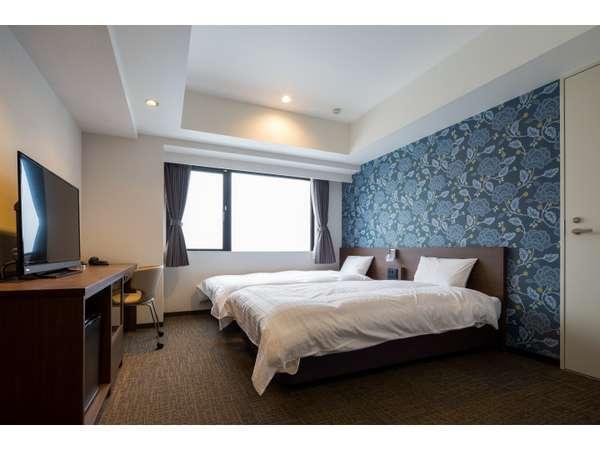 ツインルーム(ベッド幅110cm、2台)