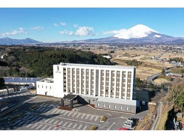 空撮画像です。富士山をご覧頂く場所としても、素晴らしい立地にございます。