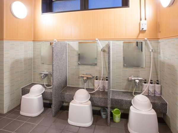 【浴場】洗い場カラン【男・女浴場】洗い場カラン(17:00~23:00/5:00~9:00)
