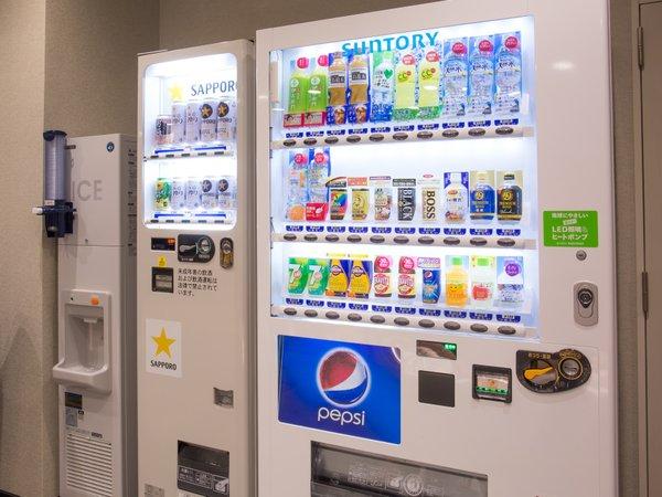 【館内案内】1階の館内自販機・製氷機