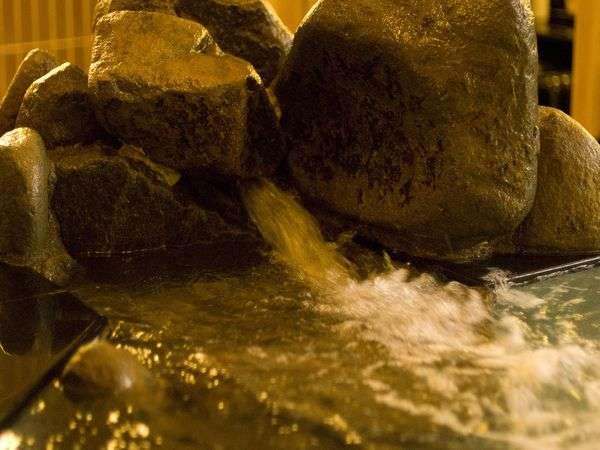 ◆地下900mから湧き出る天然温泉