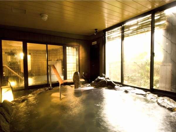 天然温泉大浴場【岩風呂】