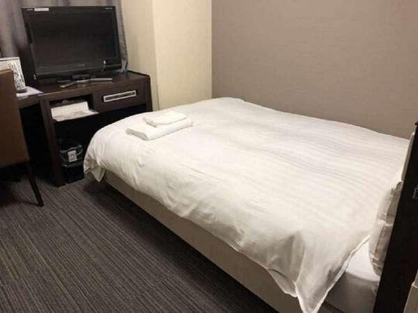 ■エコノミーシングルルーム12.5平米(ベッド幅120cm×195cm)■