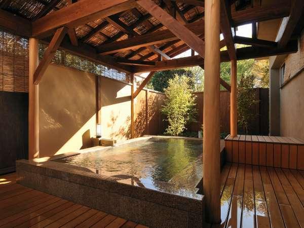 大浴場風美の湯 露天風呂