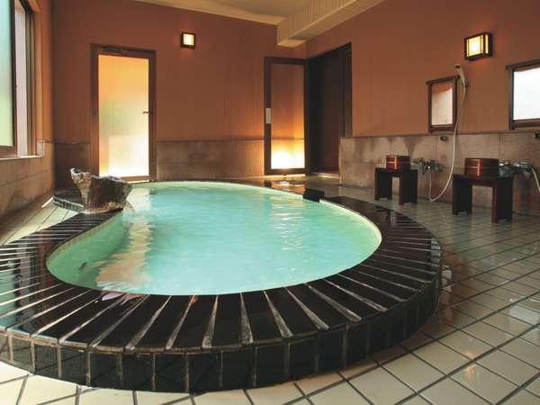良質な石和温泉を堪能できる大浴場♪