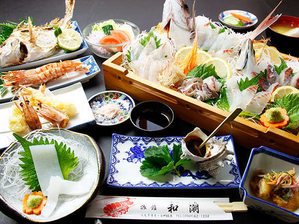 新鮮魚介のオンパレード!≪スタンダードプラン≫のお料理一例
