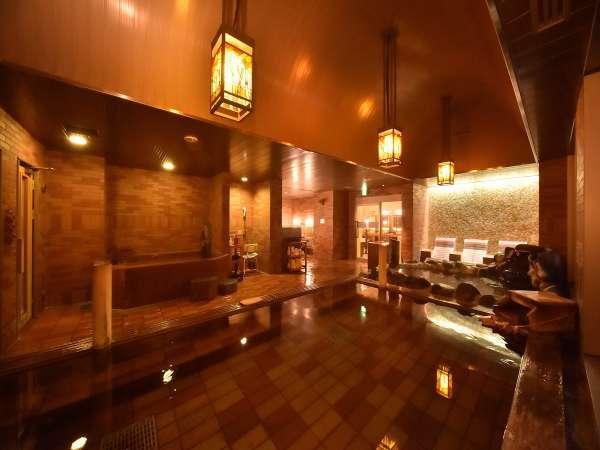 【女性大浴場】天然温泉「灯の湯」