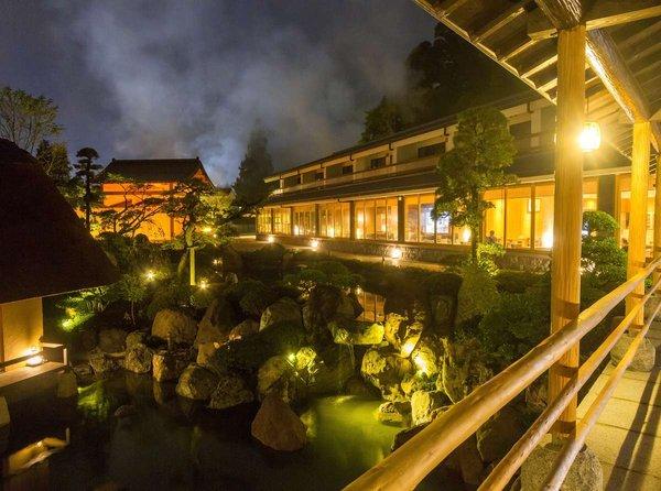 【山荘 神和苑】◆神秘の温泉 緑に佇む和みの湯宿◆全室源泉100%かけ流し温泉付