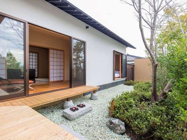 【離れ】和洋室/一例※客室によって設えが異なります。